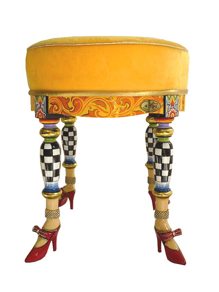 "Drag Stool ""Versailles"" - Tom's Drag"