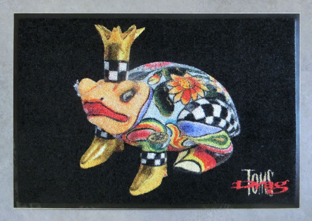 "Floormat Frog ""Andrew"" - Tom's Drag"