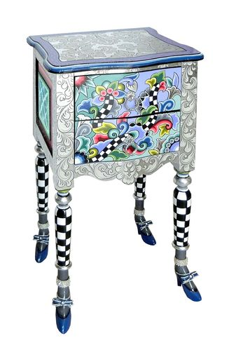 "Chest of drawers ""Versailles"" S Silver Line - Tom's Drag"