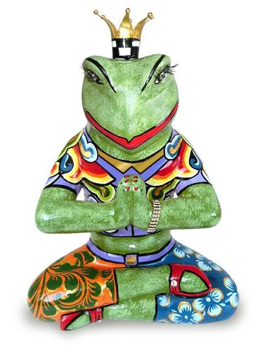 "Yoga frog ""Baba"" L - Tom's Drag"