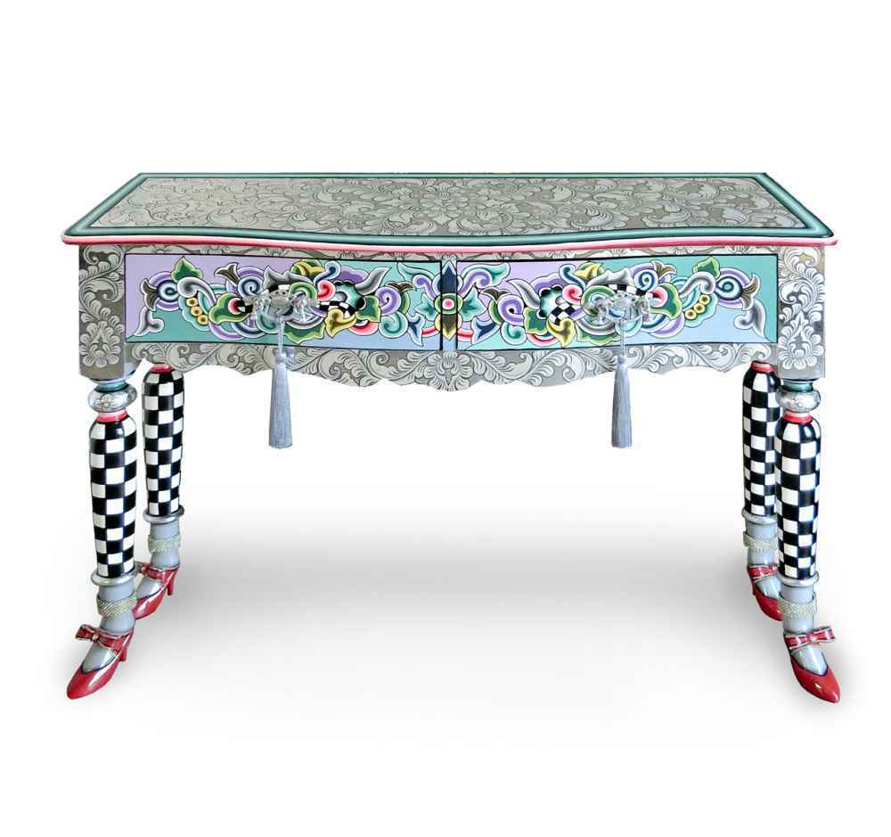 "Console table ""Versailles"" Silver Line - Tom's Drag"
